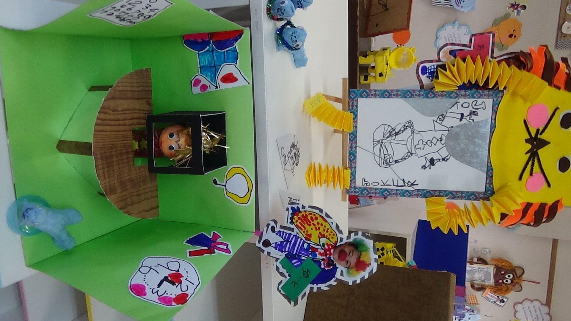 作品展の作品たち ~年長組の作品から~|松原市・藤井寺市・羽曳野市の松原ひかり幼稚園